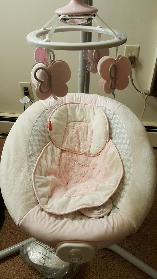 Fisher Price Sweet Butterfly Cradle N Swing